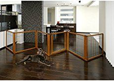 Richell Wood Freestanding Pet Gate, High-Large, Autumn Matte Finish – Reviews, Questions & Answers | Best Baby Safety Gates