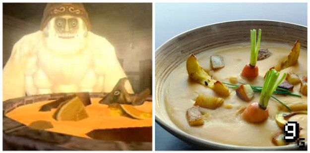 Legend of Zelda (Twilight Princess) Yeto's Soup | 21 Mouthwatering Video Game Foods In RealLife
