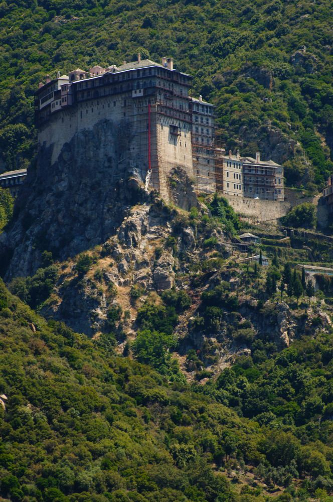 Holy Monastery on Mount Athos ~ Chalkidiki