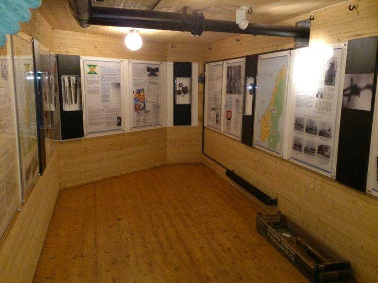 I deler av de gamle bunkersene har vi utstilling som omhandler både fortets historie og krigen generelt. Du kjøper en billett både til Ergansenteret og Ergan Kystfort - med omviser.