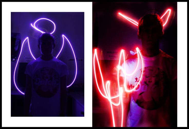 Painting With Light | Devil | Angel