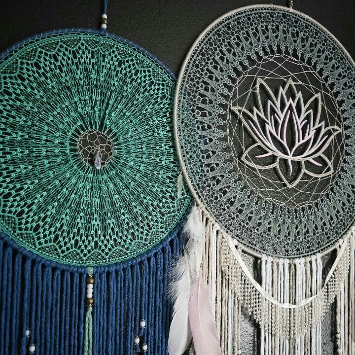 Make Your Own Crochet Dreamcatcher Dreamcatchers Are Said To Act
