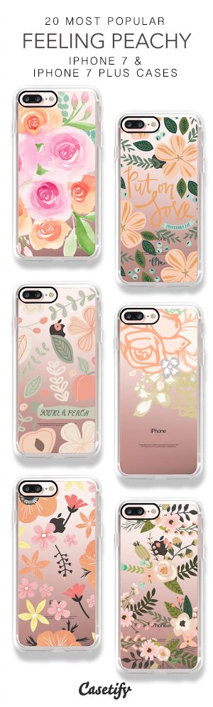20 Most Popular Feeling Peachy iPhone 7 Cases & iPhone 7 Plus Cases here > https://www.casetify.com/collections/top_100_designs#/?vc=JjNXfmIHAn