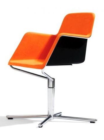 Swivel Peek Easy Chair by Stefan Borselius