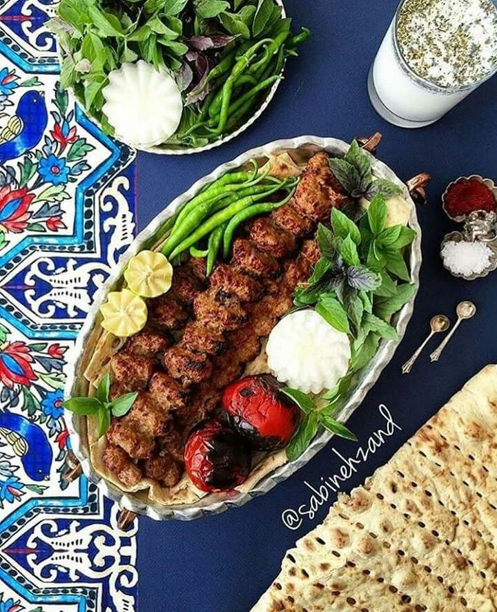 writing about iranian food culture