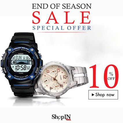 Best Prices On Top Branded Watches At ShopINdeal ......  Visit Link: http://shopindeal.com/Details/-10-percent-Off-On-All-Watches/98/New%20Maharashtra%20Watch%20&%20Electronics,Chinchwad