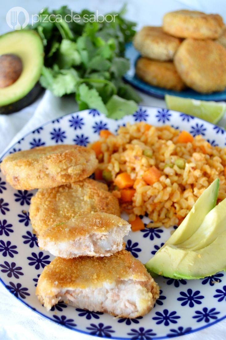 Croquetas de atún y papa www.pizcadesabor.com