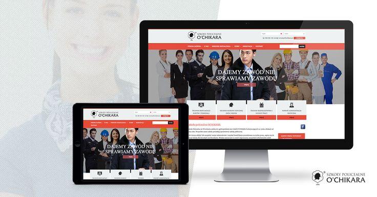 Nowa realizacja serwisu WWW z unikalną grafiką, responsywnością i autorskim systemem zarządzania treścią CMS.
