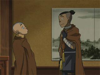 Avatar: The Last Airbender - Aang and Sokka