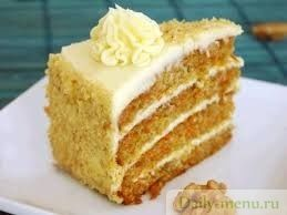 Фитнес морковный торт с корицей - Рецепты пользователя Елена Кочубей - Daily-menu.ru