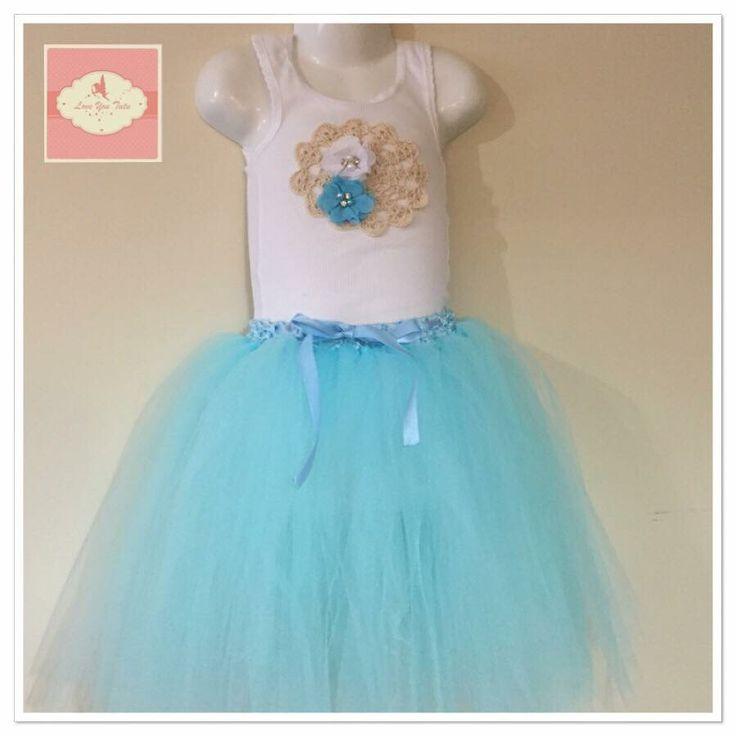 Blue 3/4 tutu set  Available to purchase on our website www.loveyoututu.com.au