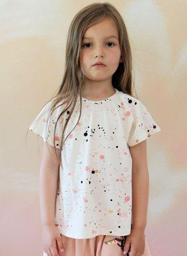Soft Gallery Olivia T-shirt: Galleries Olivia, Kids Fashion, T Shirts Dots, Polka Dots Shirts, Children Clothing, Baby Clothing, Soft Galleries, Kids Clothing, Diy Kids