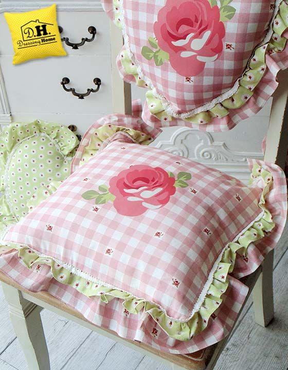 Il cuscino della seduta della collezione Madame Coco