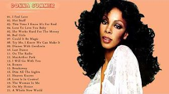 DONNA SUMMER GREATEST HITS - YouTube