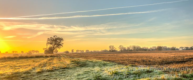 This #sunrise photo was taken this morning in Norfolk. As you can see, it was a frosty (& therefore cold!) start, but that only added to the beauty of the scene before me. Hope you enjoy the photo! #landscape It has also featured as the banner image on the RPS Facebook page