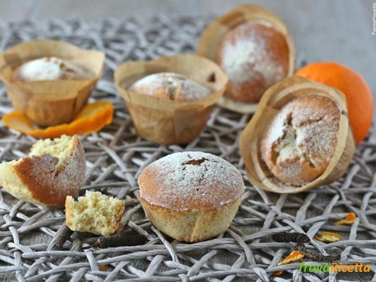 Muffin di albumi con mandarini e pepe del Bengala  #ricette #food #recipes