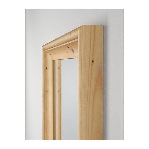 STABEKK Miroir, brun clair 50x160 cm brun clair