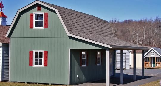 357 best images about living small exterior on pinterest for 40x40 garage for sale