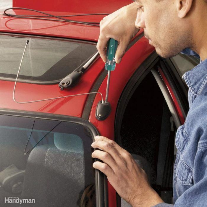 Replace That Broken Antenna Car Maintenance Auto Repair Car