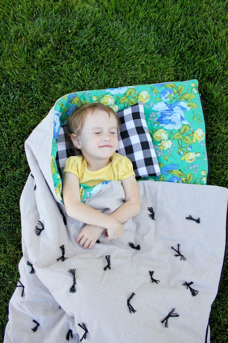 diy toddler sleeping bag tutorial delia creates