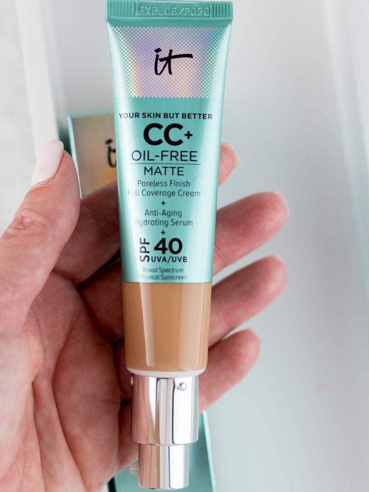 Best Cc Cream 2020 IT Cosmetics CC+ Cream Oil Free Matte SPF 40 Review + Photos
