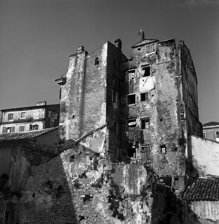 0592a59 04 | corfu, greece may 1959 war-damaged buildings, j… | Flickr