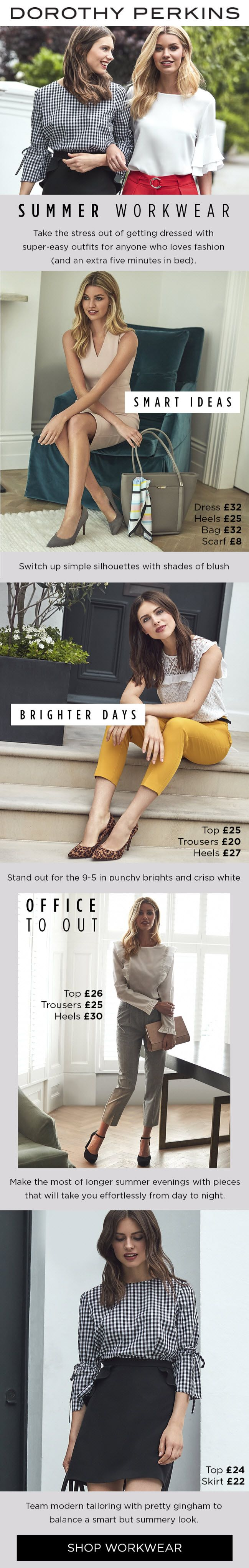 Wondering what to wear to work when it's hot? Let us take the stress out of …