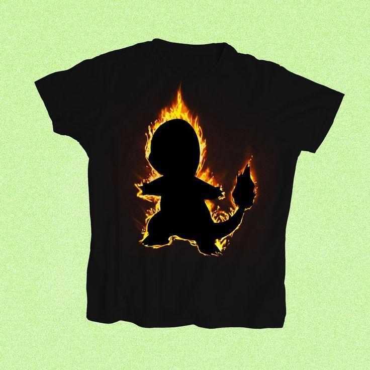 "Pokemon Charmander ""Flame Burst"" T shirt - Singapore/Malaysia   StoryStatement - shop for cheap cool Pokemon graphic tees online - StoryStatement"