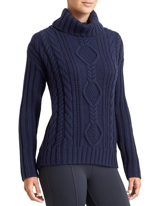 Merino Plains Sweater - For all those seeking an old-school cable-knit sweater with a totally new-school slouchy fit, this is the aprés-ski sweater for you.
