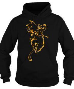 dragon ball z hoodie black