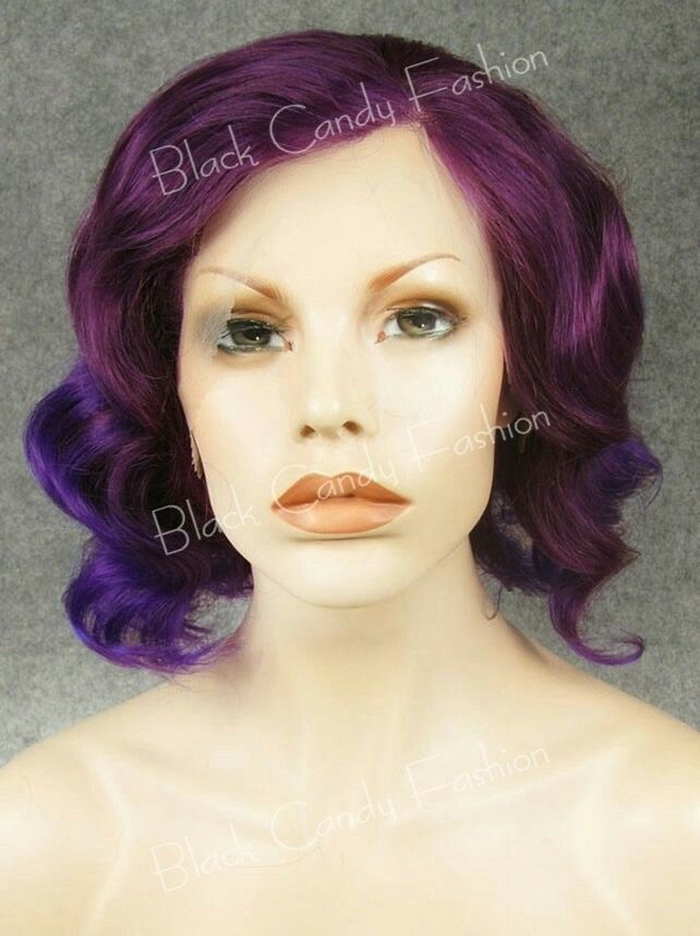 Nebula - Black Candy Fashion Wig - £35