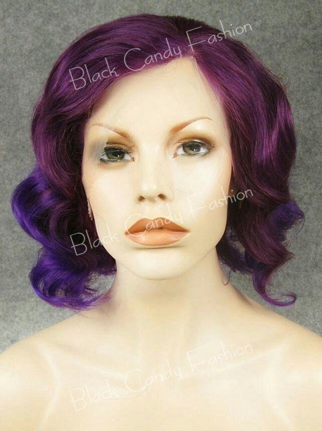 Nebula - Black Candy Fashion Wig - £35