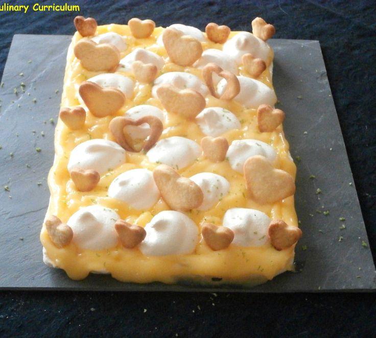 Découvrez la recette de la tarte au citron revisitée en pavlova
