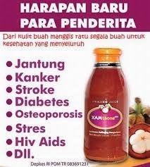 XAMthone Plus bermanfaat sebagai obat kanker, obat herbal yang bisa membantu penyembuhan penyakit kanker rahim, kanker kelenjar getah bening, kanker paru-paru, kanker payudara, kanker prostat. XAMthone Plus sebagai obat kanker dan pengobatan kanker. Obat kanker xamthone bagus untuk membantu penyembuhan kanker. kunjungi kami di http://lapakdino.blogspot.com/2015/08/ekstrak-kulit-manggis-xamthone.html