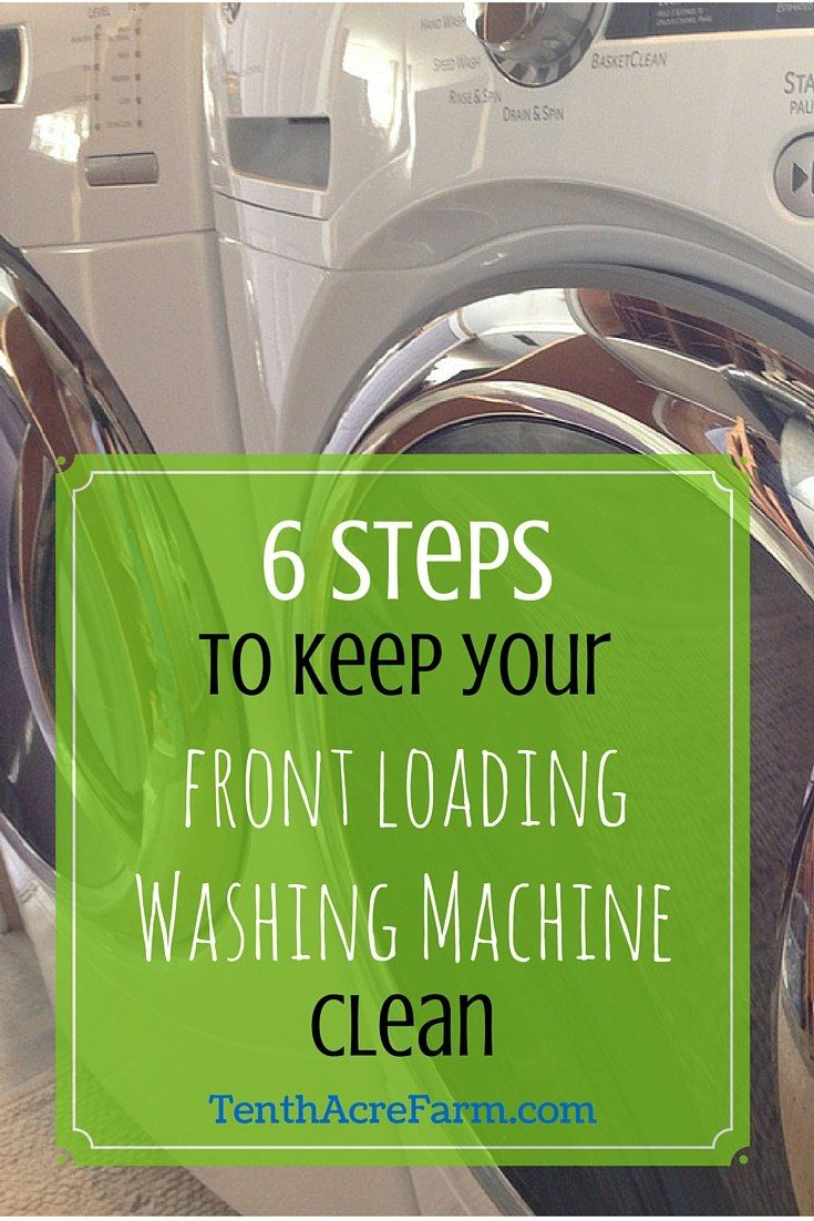 Cleaning Front Load Washing Machine Best 25 Washing Machine Smell Ideas On Pinterest Cleaning