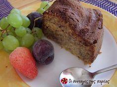 Κέικ φρούτων χωρίς ζάχαρη #sintagespareas