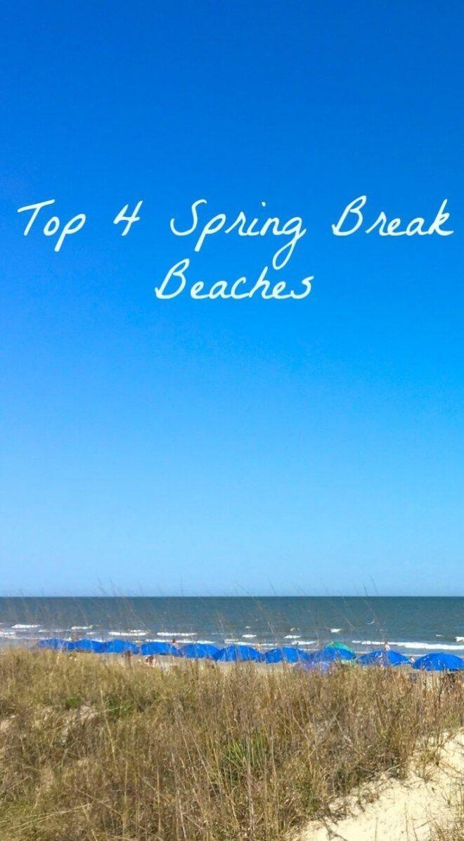 Top 4 Best Spring Break Beaches - Mackinaw Road