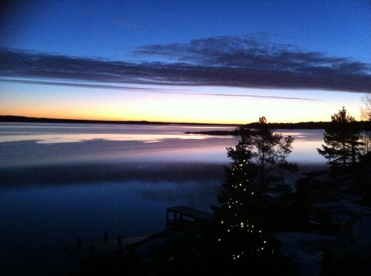 Epiphany morning, Eckerö Torp.