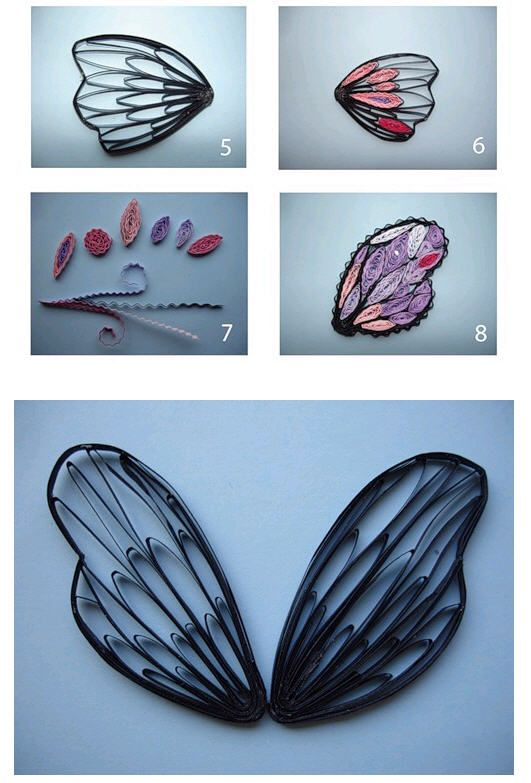 butterfly wings how to