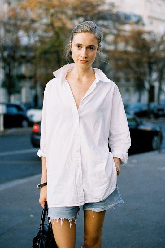 An easy Parisian style.