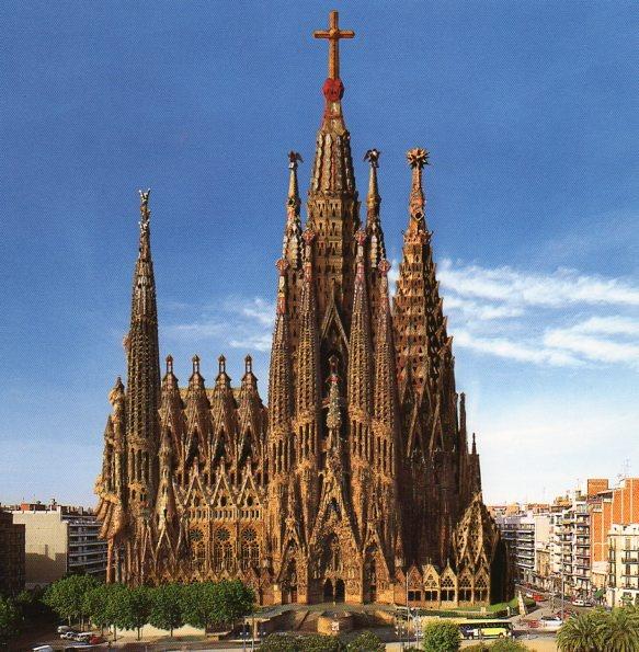 Church of the Holy Family, Barcelona Spain