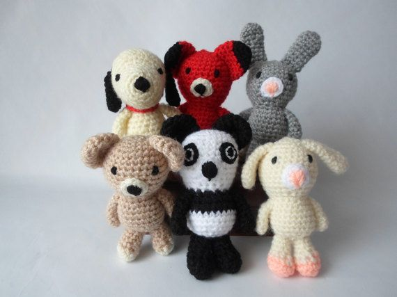 Animals Crochet Amigurumi Toy