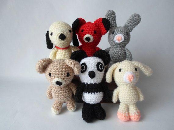 Animals Crochet Amigurumi Toy