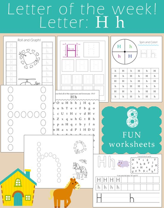 Letter of the Week: Letter H -