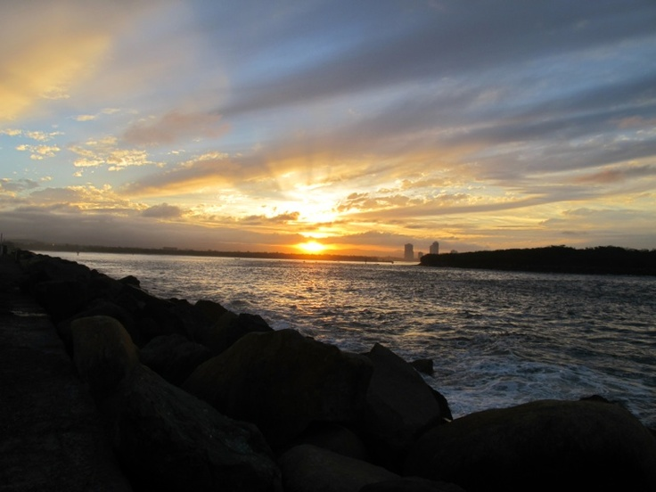 Sunset at The Spit