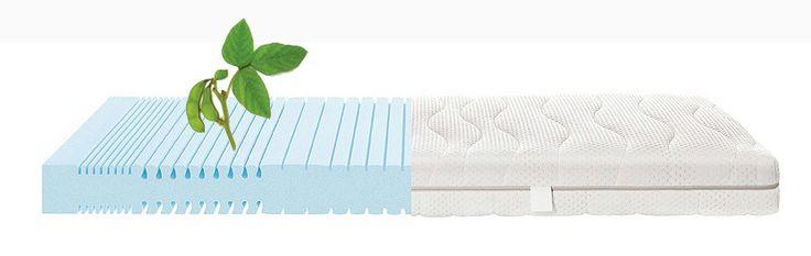 Die Selecta S3 Schaummatratze ist eine Matratze mit einem elastischen Kern (Raumgewicht 43kg/m³) aus HR-Kaltschaum*, hergestellt unter Verwendung von Sojaöl. Der Sojaanteil sorgt dabei für eine besonders hohe Elastizität der Matratze. Der Kern mit seinem speziellen Matratzenschaumschnitt bietet eine Einteilung in 7 Körperkomfortzonen. Eine Mittelzonenverstärkung und eine extra Schulterkomfortzone gewährleisten eine gute ergonomische Schlafhaltung.