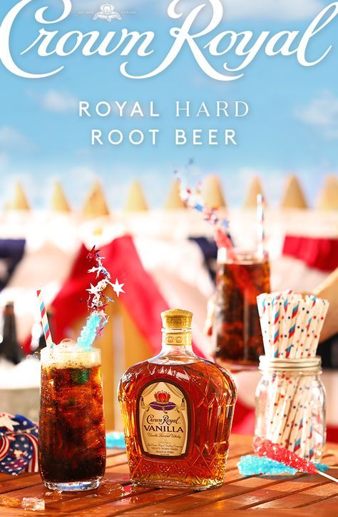 This Fourth of July, start the fireworks a little early with a simple cocktail recipe made with the smooth flavor of Crown Royal Vanilla Flavored Whisky. To make a Royal Hard Root Beer, add 1.5 oz Crown Royal Vanilla and 4 oz root beer into a highball glass with ice. Stir, sit back and raise a glass to friends, family, and America!