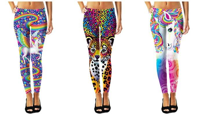 Lisa Frank now makes leggings, sweatshirts, tank tops, and dresses. This is really happening.