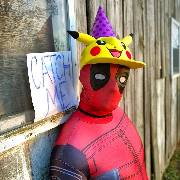 When youre single and completely out of ideas  If you still play Pokémon GO then this is probably hilarious. If not its still Deadpool in a Pikachu hat! #deadpool #deadpool2 #wadewilson #marvel #marvelcomics #marvelcosplay #deadpoolcosplay #pikachu #pokemongo #pikachuhat #cosplay #cosplayer