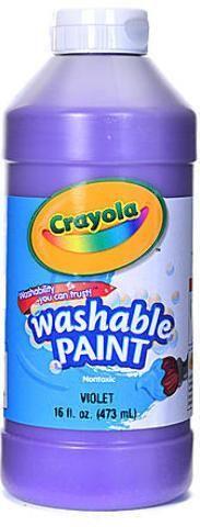 Crayola Washable Paint (Violet)